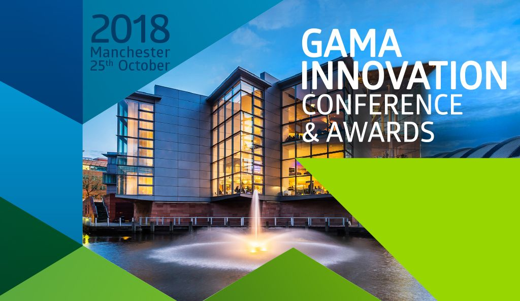 SPEAKER LINE-UP ANNOUNCED FOR THE GAMA INNOVATION CONFERENCE & AWARDS 2018
